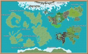 Therafim World Map