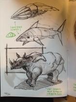 Dynamic Sketching practice I